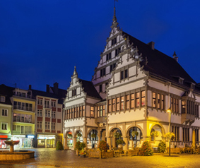 Paderborn town hall, Germany