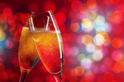 Champagne et vins de fête